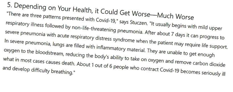 (Képernyőkép az ETNT Health cikkről, az MSN 3.18.2020 számú közzététele alapján)