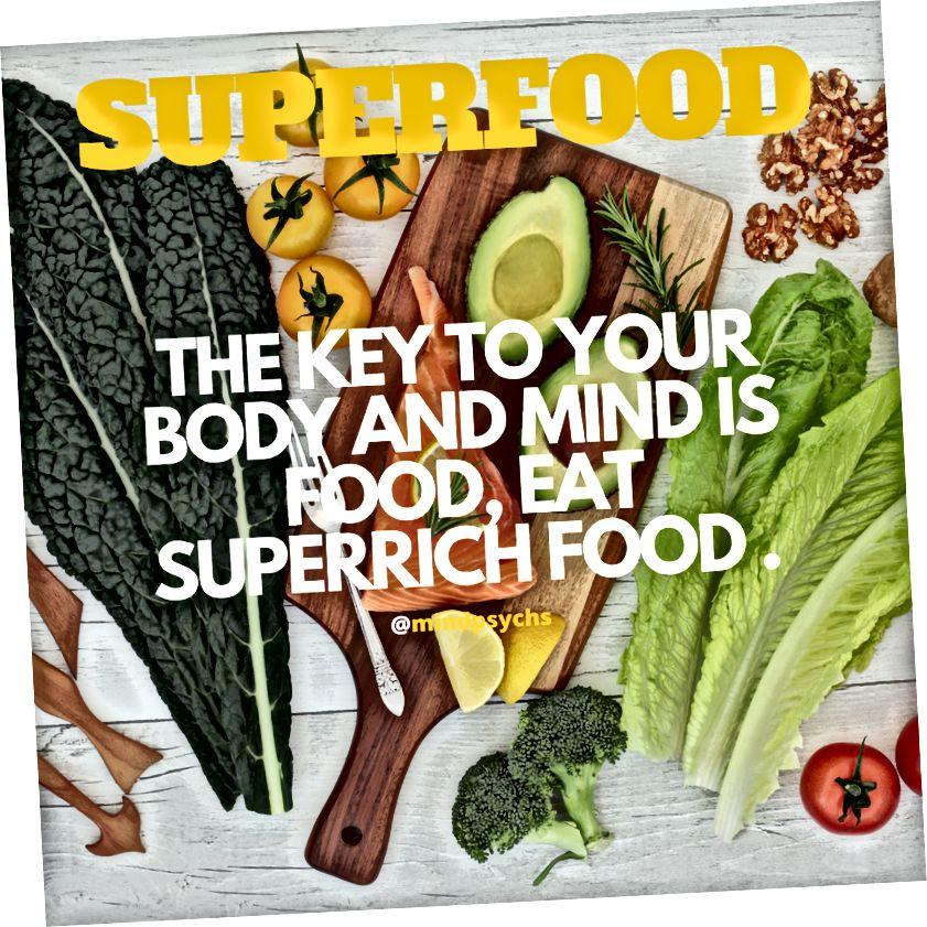 SuperFood on avain mieltäsi ja kehoasi