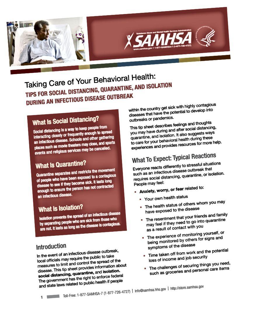 ຄູ່ມືຂອງ SAMHSA ກ່ຽວກັບຄວາມແຕກຕ່າງທາງສັງຄົມ. ອ່ານຄູ່ມືທັງ ໝົດ ທີ່ https://store.samhsa.gov/system/files/sma14-4894.pdf