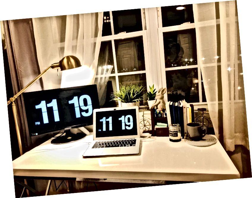 Το γραφείο μου για την WFH