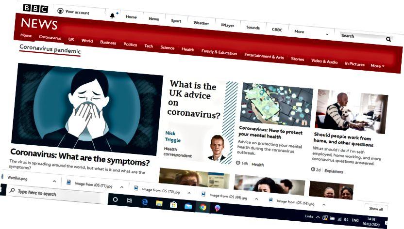 @BBCNews कोरोनावायरस साइट