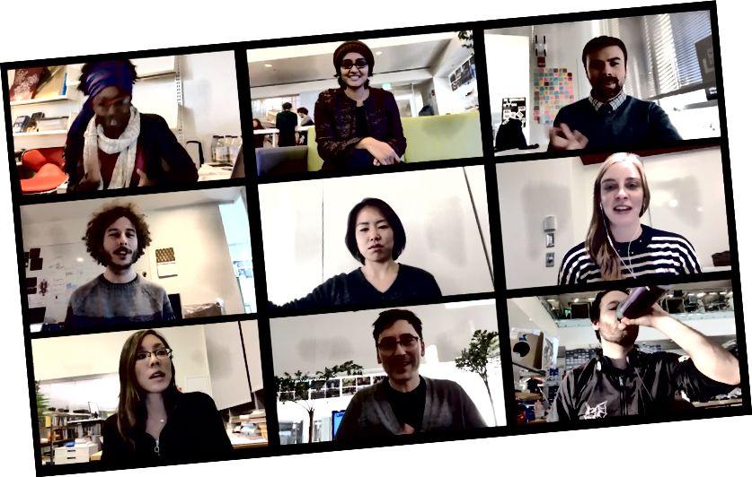 Deltagare i ett online-möte