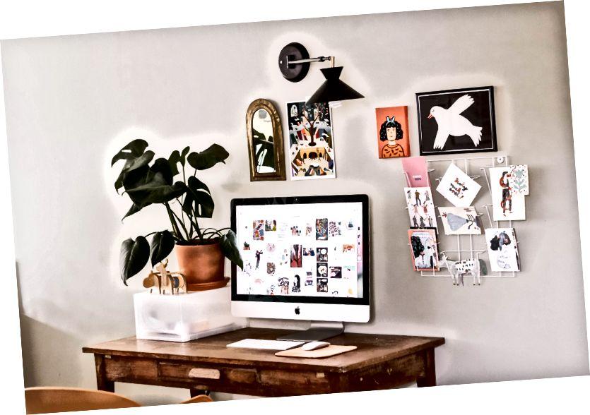Հիմա ավելի շատ մարդիկ են տնից աշխատում. Լուսանկարը ՝ Elsa Noblet- ի ՝ Unsplash- ի վրա