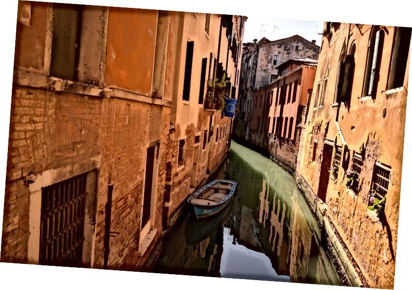 Venetsia: kuvan kirjoittanut