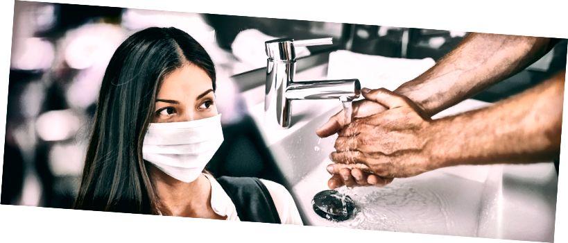 Handtvätt ofta och korrekt kan minska din risk att få Covid-19 med 16%.