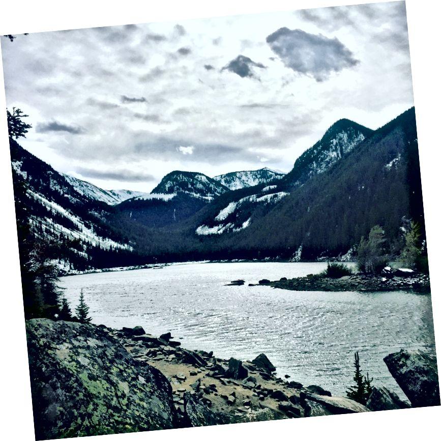 Fotó: Heather White. Láva-tó, Montana.