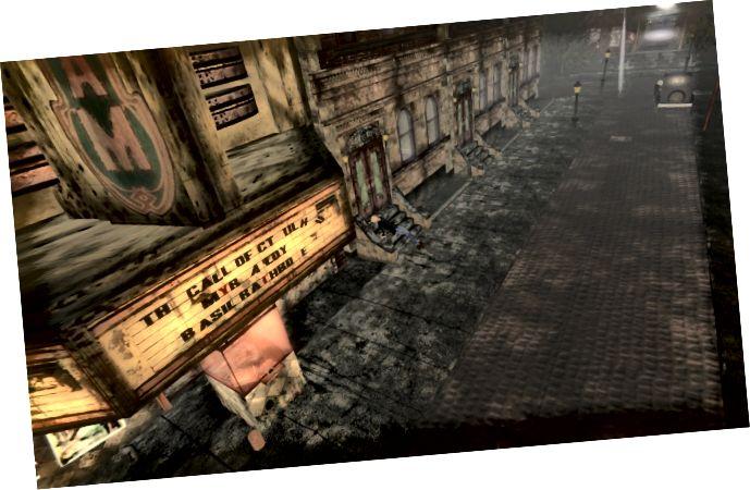 Innsmouth utca (jóvoltából a SecondLife.com)