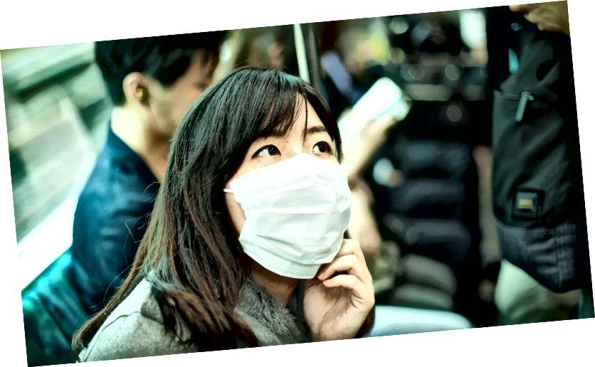 Miksi japanilaiset käyttävät naamioita?