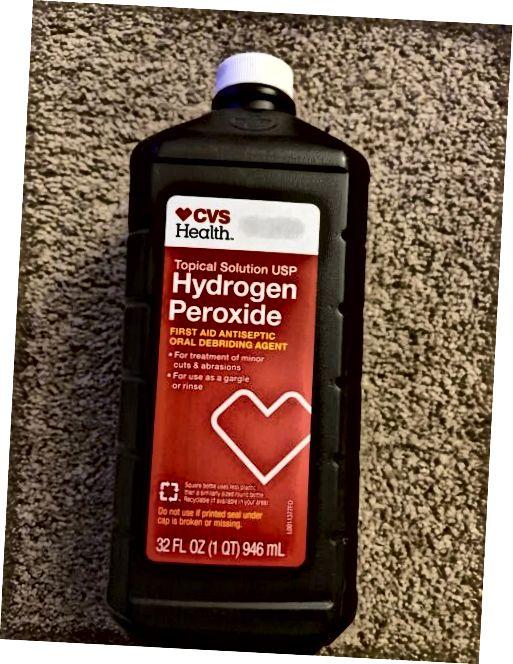 CVS hidrogén-peroxid