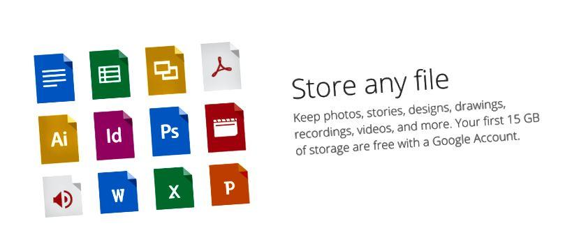 Newzik рекомендует Google Drive для обмена папками и файлами.