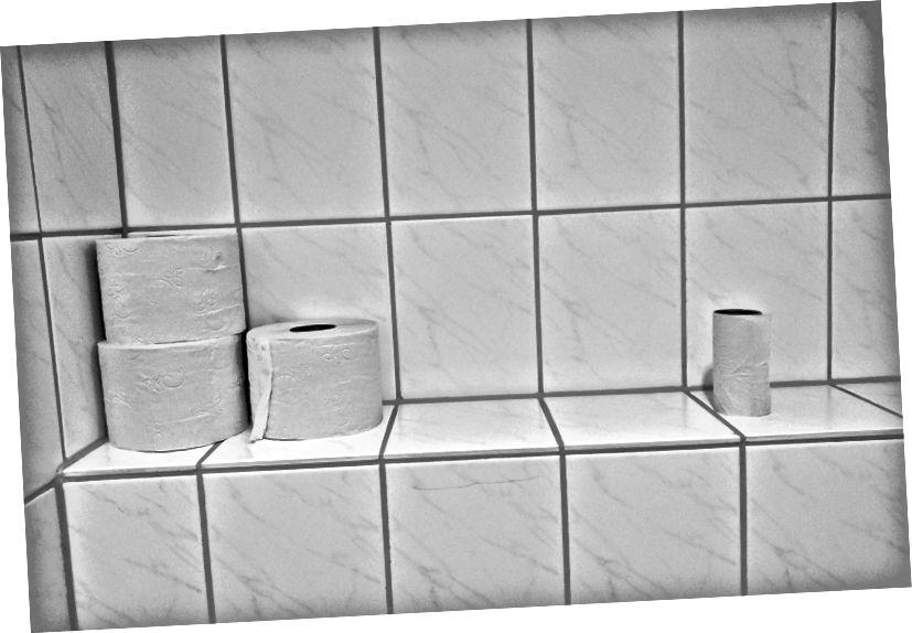 Las existencias de papel higiénico, por otro lado, pueden agotarse rápidamente Fuente: Unsplash