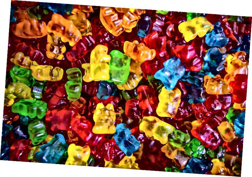 Hur som helst, vi vet alla att One True Diet är Gummy Bear Diet Källa: Unsplash