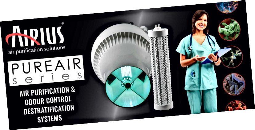AIRIUS стартира PUREAIR сериите, за да подобри качеството на въздуха и да помогне в борбата с CORONAVIRUS