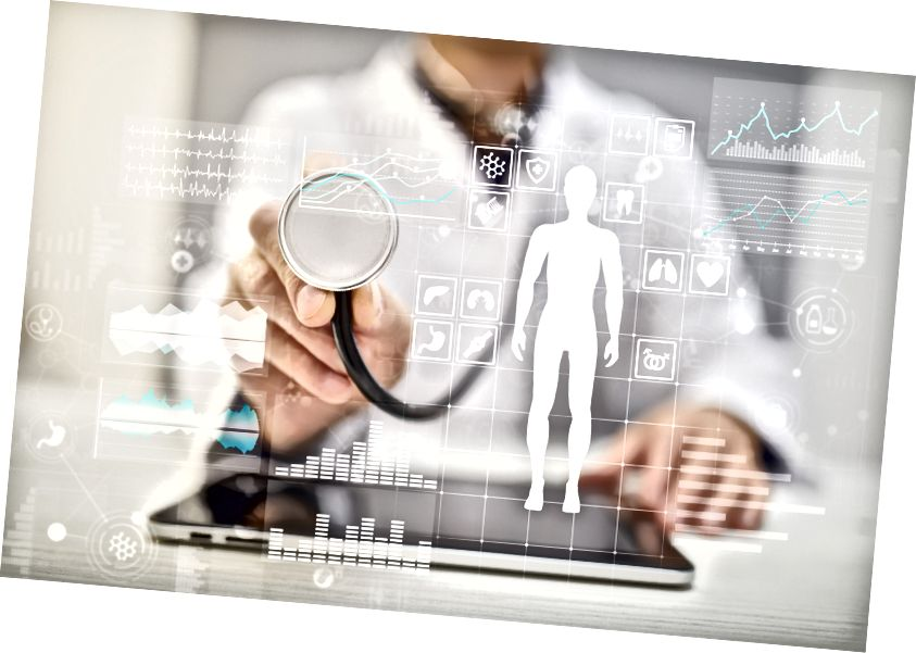 Foto: Virtuell läkare konsultera bilden via Adobe Stock