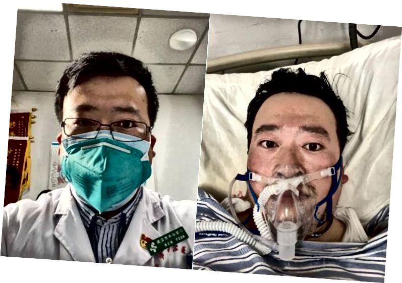 Dr. Li Wenliang. Sursa: Weibo