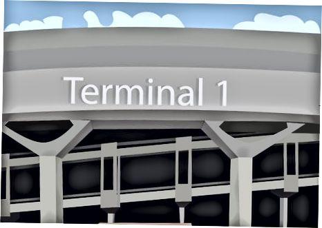 Parijdan Sharl de Goll aeroportiga haydash