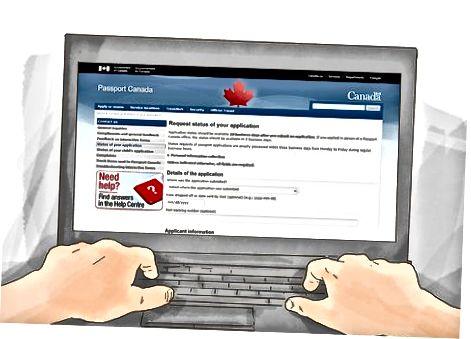 Kanada pasportining holatini so'rash
