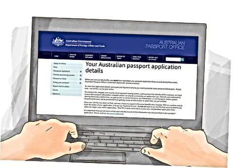 Avstraliya pasportining holatini kuzatish