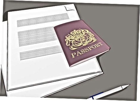 Попълване на заявление за виза J-1