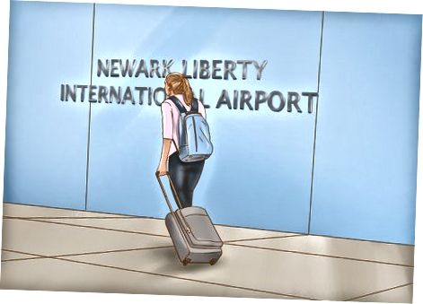 Newark aeroporti ekspressini olish
