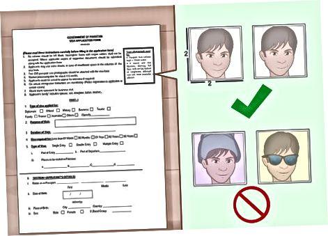 Bendrųjų vizų reikalavimų tenkinimas