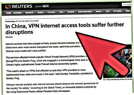Een VPN kiezen
