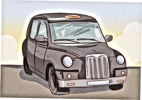 Taksi yoki mashina olish