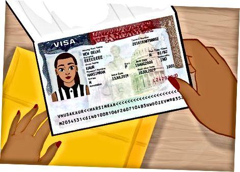 Кандидатстване за виза за посетители