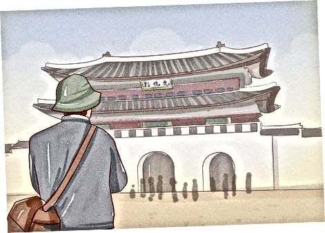 Gyeongbokgung saroyini o'rganish