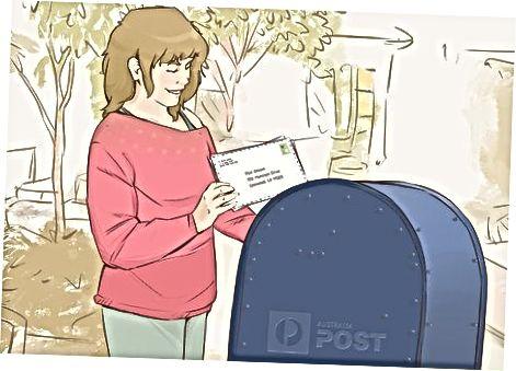 Публикуване на вашето писмо