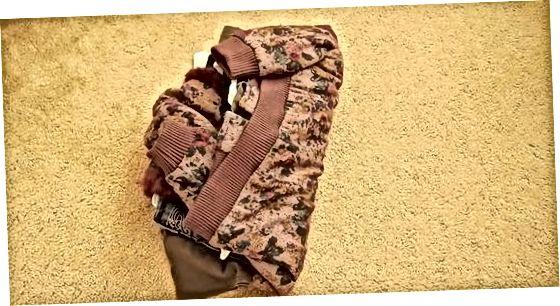 Опаковане на дрехите си в пакет