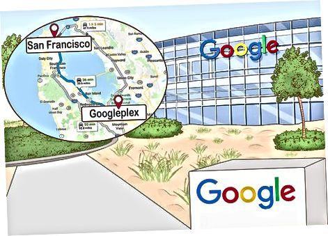 Стигаме до Googleplex