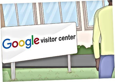 Провеждане на обиколка на Googler
