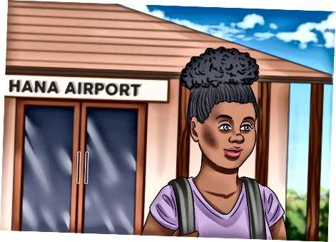Поемане на търговски полет до Оаху