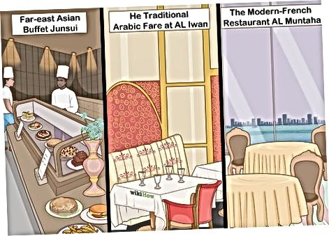 Хранене в Бурж ал Араб