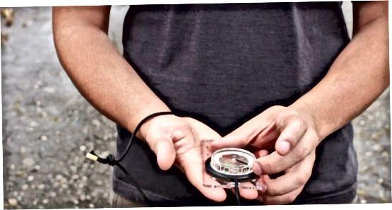 Kompasdan foydalanish