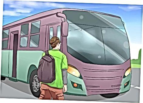 Avtobusda borish