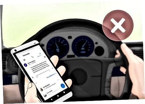Да сте в безопасност, докато шофирате сами