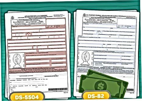 Подготовка за промяна на вашето име в паспорта ви