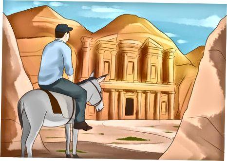 Виждане на забележителностите в Петра