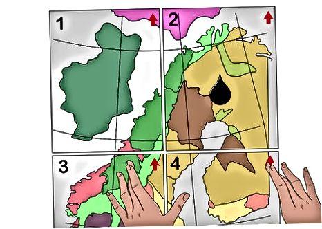 De kaart samenstellen