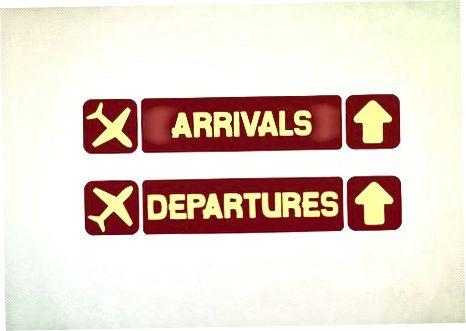 عرض المطار (كيف يتم تنظيمه)