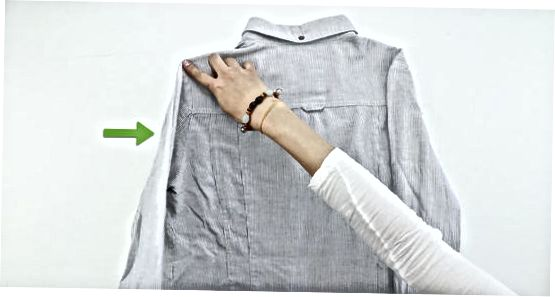 Избягване на бръчки чрез сгъване на ризи заедно