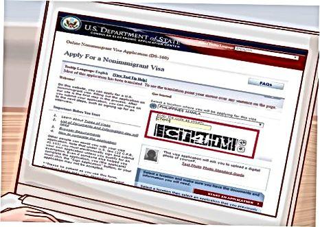 Noimmigratsion viza uchun murojaat qilish