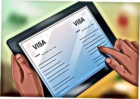 Tegishli viza olish uchun murojaat qilish