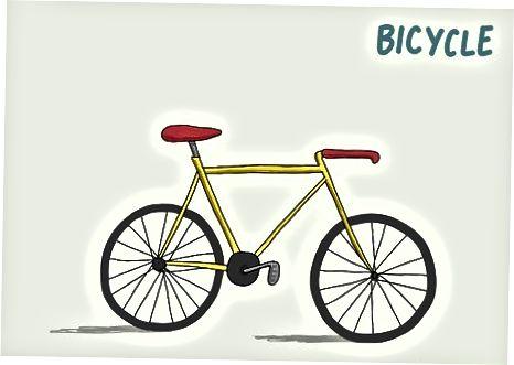 Haydash, taksi olish yoki velosiped minish