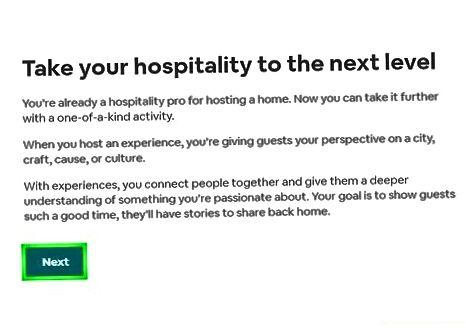 Airbnb profilini yaratish