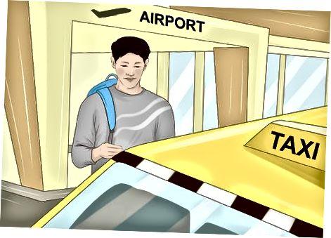 Навигация на летището и митницата и стигане до вашия хотел