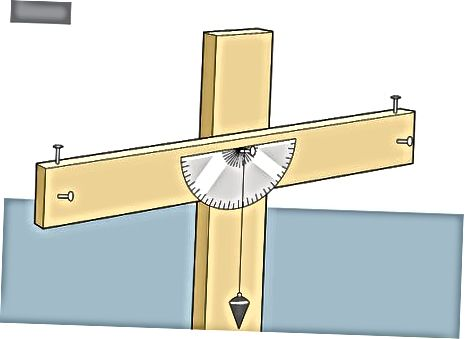 Измерване с помощта на транспортир