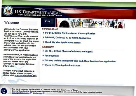 Проверка на вашия статут на виза за САЩ